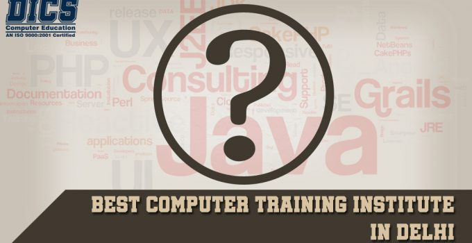 Best computer training institute