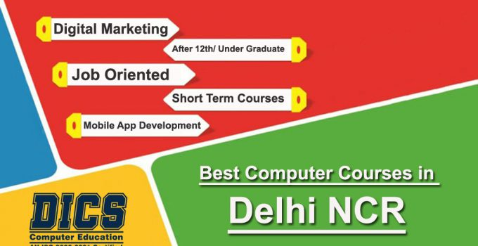 Best computer courses in Delhi