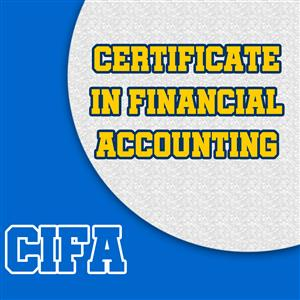 Certificate in Financial Accounting (CIFA)