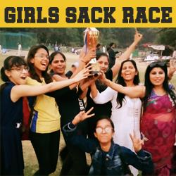 Girls Sack Race 2019
